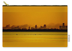 Detroit At Dawn Carry-all Pouch