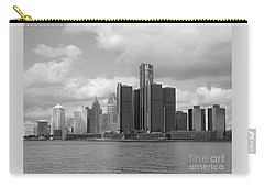Detroit Skyscape Carry-all Pouch