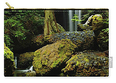 Devil Creek Falls  Carry-all Pouch by Jeff Swan