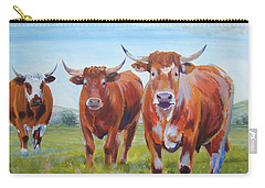 Devon Cattle Carry-all Pouch