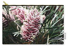 Dew Covered Grevillea Carry-all Pouch