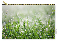 Dew Drenched Morning Carry-all Pouch by Jan Bickerton