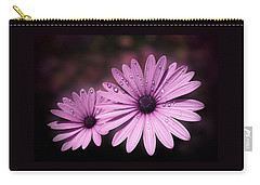 Dew Drops On Daisies Carry-all Pouch