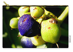 Dew Kissed Carry-all Pouch by Pamela Walton