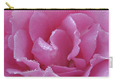 Dew Kissed Rose Carry-all Pouch