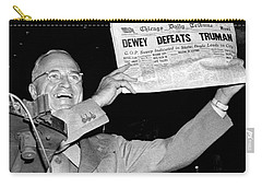Dewey Defeats Truman Newspaper Carry-all Pouch