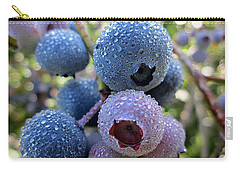 Dewy Blueberries Carry-all Pouch