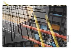 Diagonal Mondrian Carry-all Pouch by Wayne Sherriff