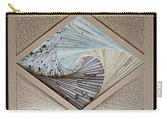 Carry-all Pouch featuring the mixed media Diamonds Are Forever by Ron Davidson