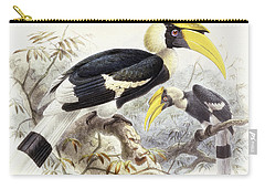 Dichocerus Bicornis Carry-all Pouch by Johan Gerard Keulemans