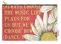 Dictionary Floral 1 Carry-all Pouch