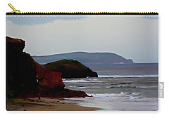 Digital Painting Of Smiths Beach Carry-all Pouch