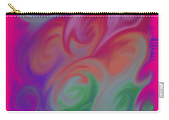 Digital Swirls Carry-all Pouch