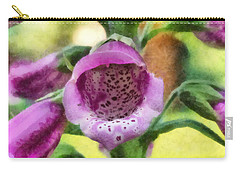 Digitalis Purpurea Carry-all Pouch