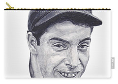 Carry-all Pouch featuring the painting Dimaggio by Tamir Barkan