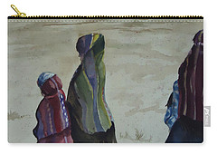 Dineh Leaving The Trading Post Carry-all Pouch