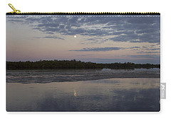 Carry-all Pouch featuring the photograph Ding Darling And Moon - 16x42 by J L Woody Wooden