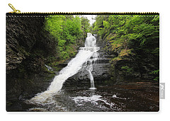 Dingmans Falls Carry-all Pouch by Trina  Ansel