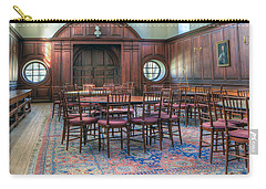 Carry-all Pouch featuring the photograph Dining Hall Wren Building by Jerry Gammon