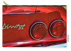 Carry-all Pouch featuring the photograph Dino Gt by Dean Ferreira