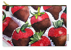 Dipped Strawberries Carry-all Pouch