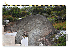 Carry-all Pouch featuring the photograph Diprotodon by Miroslava Jurcik