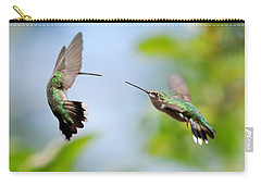 Direct Confrontation Carry-all Pouch by Christina Rollo