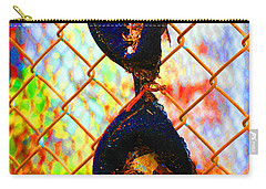 Carry-all Pouch featuring the photograph Dirty Laundry by Christiane Hellner-OBrien
