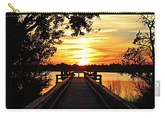 Disappearing Sun  Carry-all Pouch by Cynthia Guinn