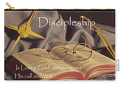 Discipleship Carry-all Pouch by Sharon Elliott