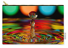 Disco Ball Drop Carry-all Pouch by Anthony Sacco