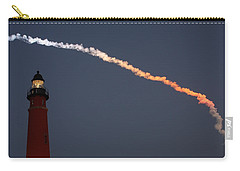 Carry-all Pouch featuring the photograph Discovery Sunset Plume by Paul Rebmann