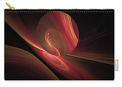 Disk Swirls Carry-all Pouch by GJ Blackman