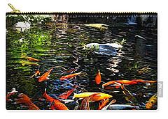 Disney Epcot Japanese Koi Pond Carry-all Pouch by Joan  Minchak