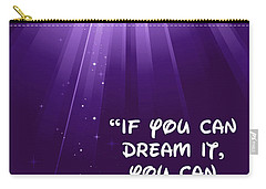 Disney's Dream It Carry-all Pouch