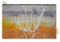 Carry-all Pouch featuring the painting Disperse by Beverley Harper Tinsley
