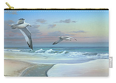 Carry-all Pouch featuring the painting Dissolving Time by Mike Brown