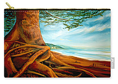 Distant Shores Rejoice Carry-all Pouch by Meaghan Troup