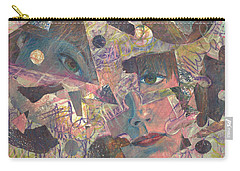 Distraction A Self Portrait Carry-all Pouch