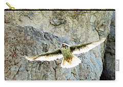Diving Falcon Carry-all Pouch