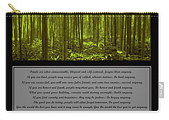 Do It Anyway Bamboo Forest Carry-all Pouch