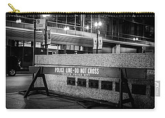 Do Not Cross Carry-all Pouch by Melinda Ledsome