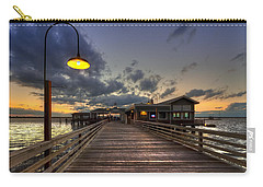Dock Lights At Jekyll Island Carry-all Pouch