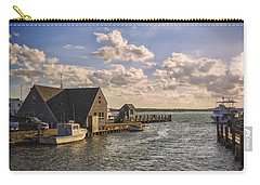 Docked Boats Woods Hole Cape Cod Ma  Carry-all Pouch