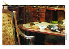 Carry-all Pouch featuring the photograph Doctor - Doctor's Office by Susan Savad