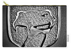 Dodge Viper Emblem -217bw Carry-all Pouch by Jill Reger