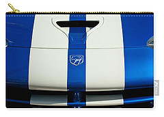 Dodge Viper Hood Emblem Carry-all Pouch by Jill Reger
