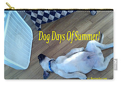 Dog Days Of Summer Carry-all Pouch