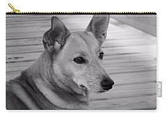 Dog In Black And White One Carry-all Pouch
