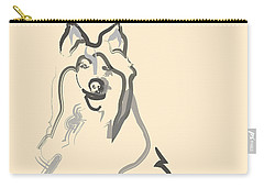 Dog - Lassie Carry-all Pouch by Go Van Kampen